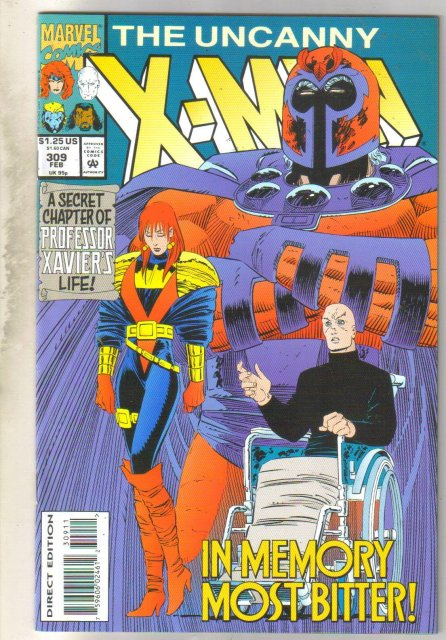 Uncanny X-men #309 comic book mint 9.8