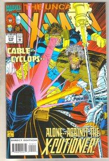 Uncanny X-men #310 comic book mint 9.8