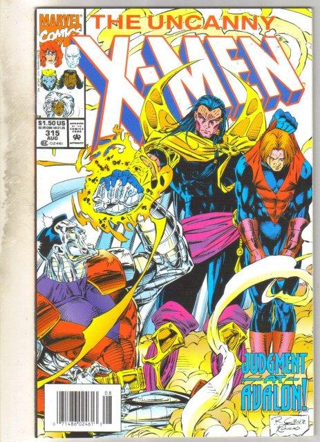 Uncanny X-men #315 comic book mint 9.8