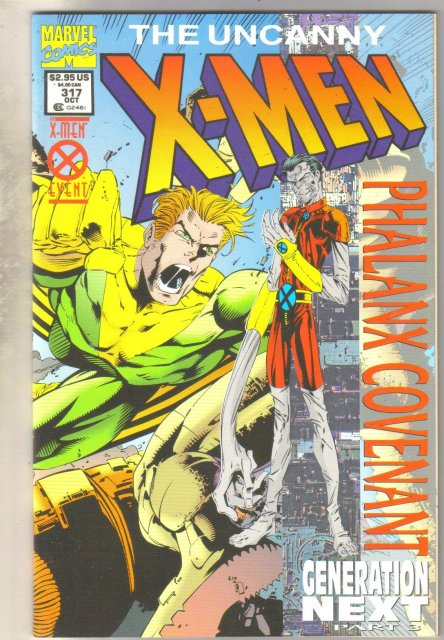 Uncanny X-men #317 comic book mint 9.8