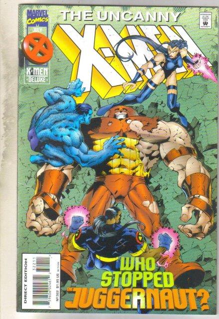 Uncanny X-men #322 comic book mint 9.8