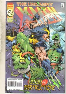 Uncanny X-men #324 comic book mint 9.8
