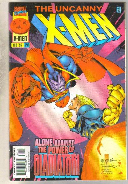 Uncanny X-men #341 comic book mint 9.8