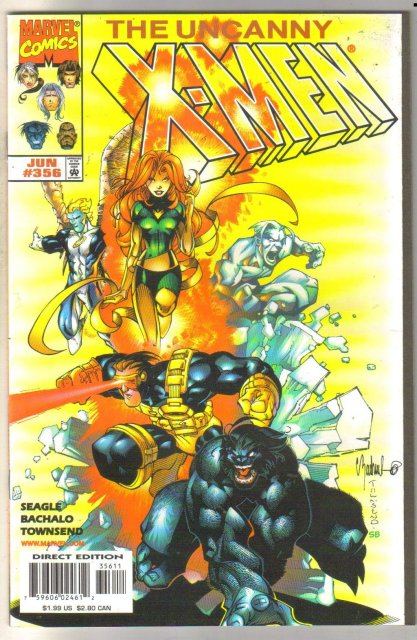 Uncanny X-men #356 comic book mint 9.8