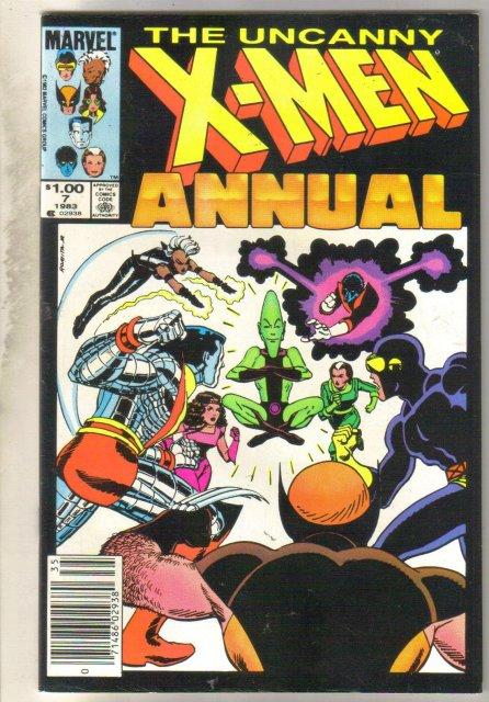 Uncanny X-men Annual #7 comic book fine 6.0