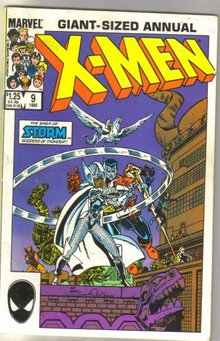 Uncanny X-men Annual #9 comic book very good 4.0