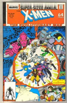 Uncanny X-men Annual #12 comic book near mint 9.4