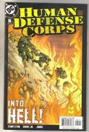 Human Defense Corps #5 comic book near mint 9.4