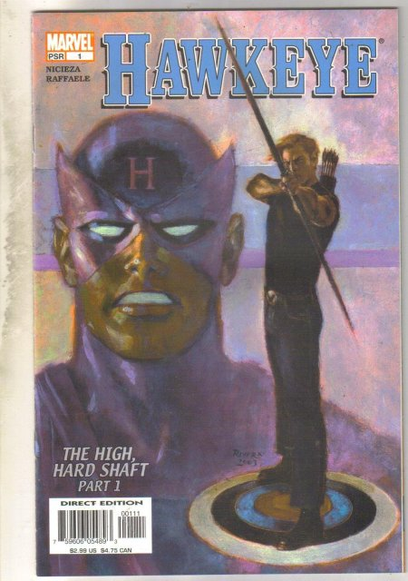 Hawkeye #1 comic book near mint 9.4