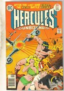 Hercules Unbound #8 comic book fine/very fine 7.0