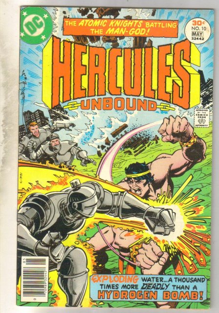 Hercules Unbound #10 comic book fine/very fine 7.0