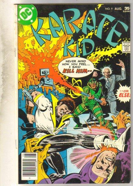 Karate Kid #9 comic book fine/very fine 7.0
