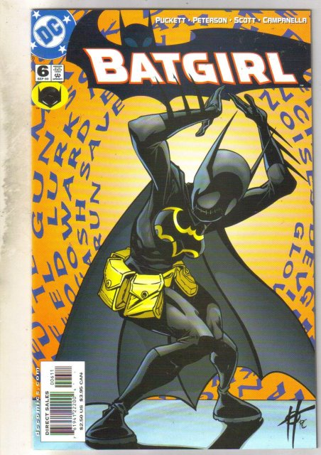 Batgirl #6 comic book mint 9.8
