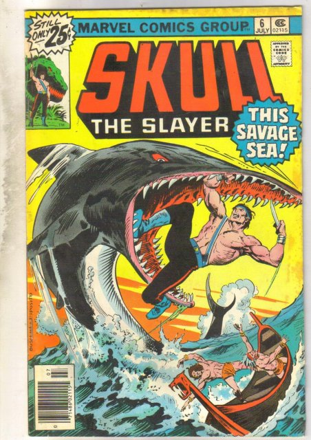 Skull the Slayer #6 comic book fine 6.0