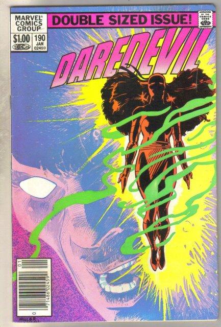 Daredevil #190 comic book fine 6.0