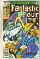 Fantastic Four #221 comic book very good 4.0