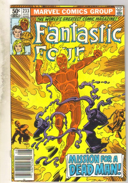 Fantastic Four #233 comic book very fine/near mint 9.0