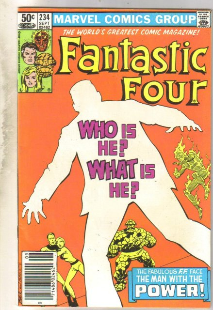 Fantastic Four #234 comic book very fine 8.0