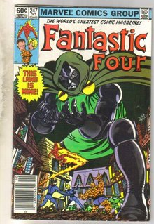 Fantastic Four #247 comic book very fine 8.0