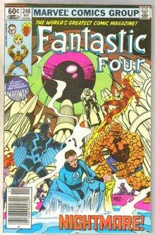 Fantastic Four #248 comic book very fine 8.0