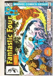 Fantastic Four #252 comic book very fine 8.0