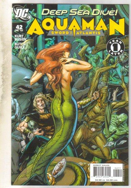 Aquaman #42 comic book mint 9.8
