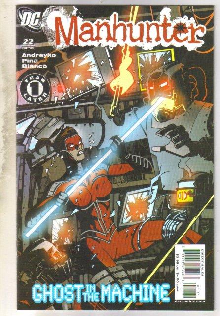 Manhunter #22 comic book mint 9.8