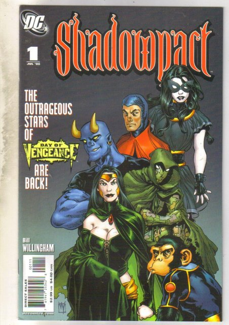 Shadowpact #1 comic book mint 9.8