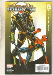 Ultimate Spider-man #108 comic book mint 9.8