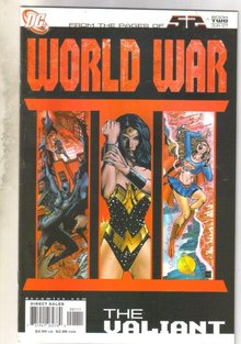 World War Book Two The Valiant comic book near mint 9.4