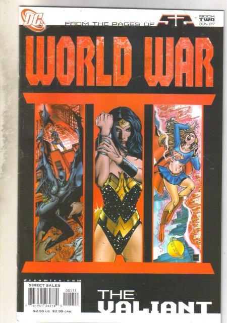 World War Book Two The Valiant comic book near mint 9.4