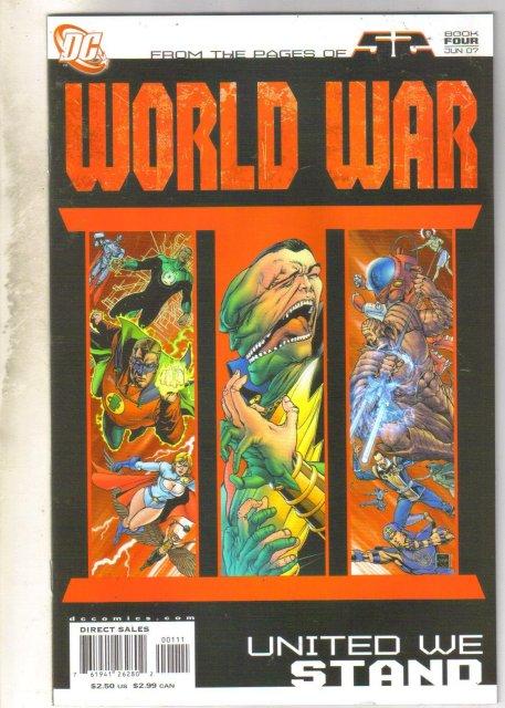 World War Book Four United we Stand comic book near mint 9.4