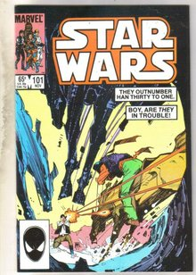 Star Wars #101 comic book near mint 9.4