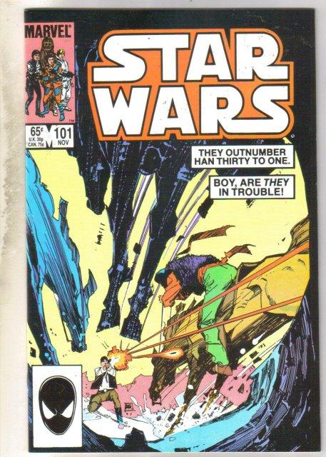 Star Wars #101 comic book near mint 9.4