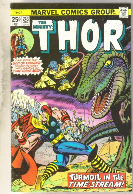 Mighty Thor #243 comic book very fine 8.0