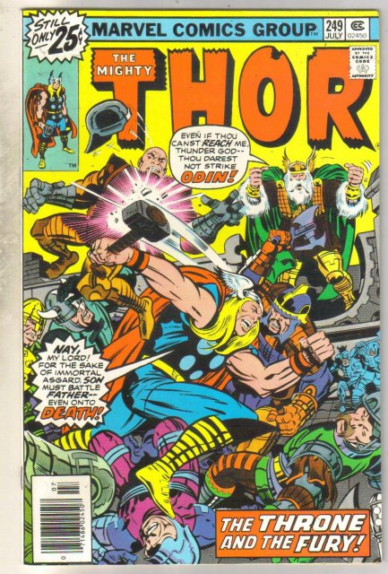 Mighty Thor #249 comic book near mint 9.4
