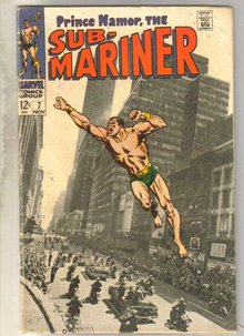 Sub-Mariner #7 comic book very good 4.0