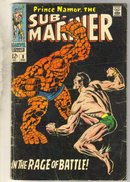 Sub-Mariner #8 comic book very good 4.0