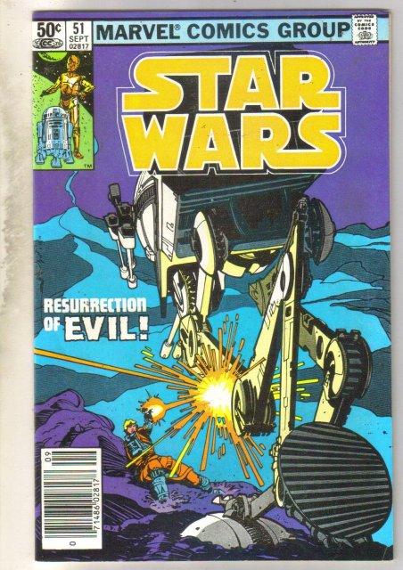 Star Wars #51 comic book fine/very fine 7.0
