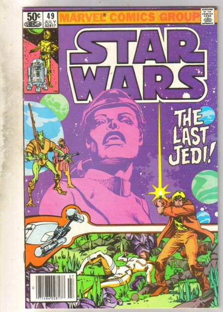 Star Wars #49 comic book fine/very fine 7.0