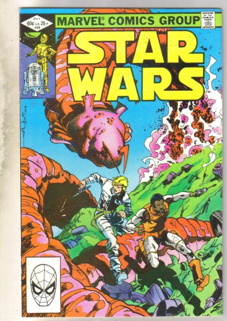 Star Wars #59 comic book near mint 9.4
