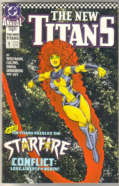 New Titans Annual #6 comic book mint 9.8