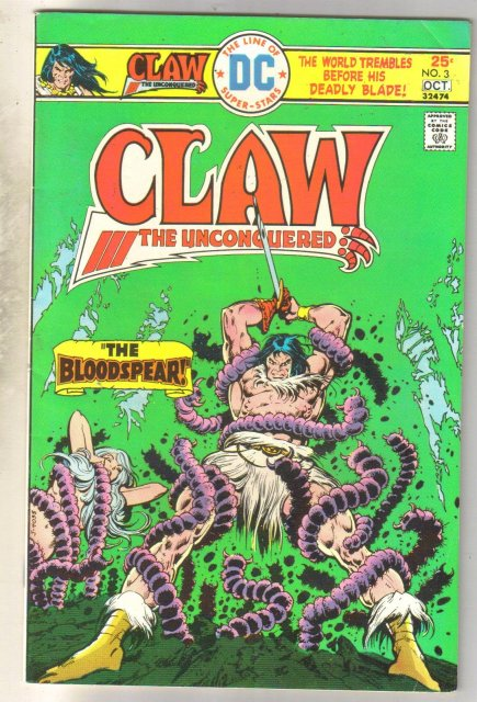 Claw #3 comic book fine 6.0