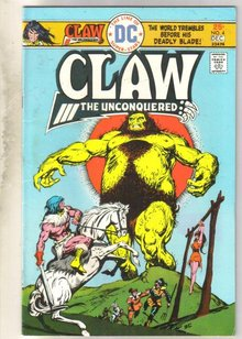 Claw #4 comic book fine 6.0