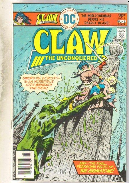 Claw #7 comic book near mint 9.4