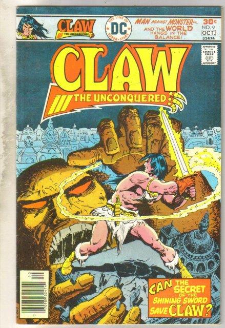 Claw #9 comic book fine 6.0