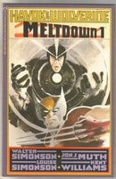 Havok & Wolverine Meltdown #1 comic book near mint 9.4