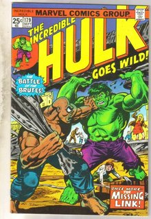 Incredible Hulk #179 comic book very fine 8.0