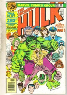 Incredible Hulk #200 comic book fine 6.0