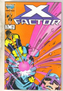 X-Factor #14 comic book very fine 8.0